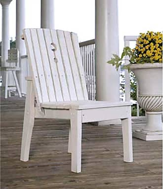 UWharrie Chair Uwharrie Behrens Outdoor Armless Dining Chair, Patio Furniture - B096-041P