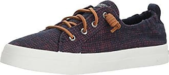 Sperry Top-Sider Womens Crest Ebb Two-Tone Sneaker, Navy, 9 Medium US