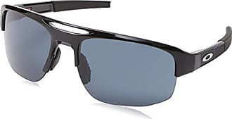 Oakley Mens Mercenary Rectangular Sunglasses, Polished Black, 70 mm