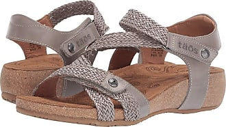 65acc8389f38bf Taos Footwear Trulie (Light Grey) Womens Sandals
