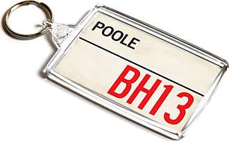 ILoveGifts KEYRING - Poole BH13 - UK Postcode Place Gift