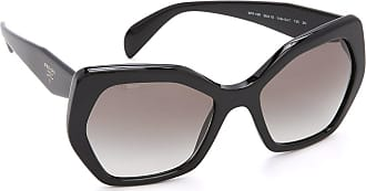 Prada Womens 0Pr16Rs 1Ab0A7 56 Sunglasses, Black/Gradient