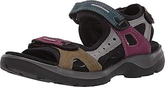 Ecco Offroad, Hiking Sandals Womens, Multicolour (Petrol/Aubergine/Fir Green 51589), 8.5 UK EU