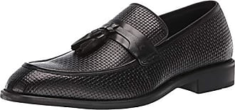Steve Madden Mens EBBERT Loafer Black Leather 7 M US