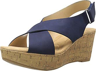 Chinese Laundry Cl By Chinese Laundry Womens Dream Girl Wedge Pump Sandal, Navy Nubuck, 8.5 M US