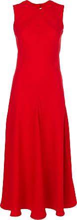 Khaite Vestido midi - Vermelho