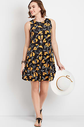 Maurices 24/7 Floral Print Tank Dress