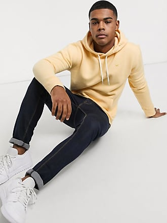 Hollister co lived hooded sweat in yellow gold