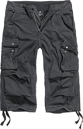 Brandit Urban Legend 3/4 length Shorts Black, Mens, black, L
