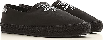 Versace Jeans Couture Slip on Sneakers for Men On Sale, Black, Fabric, 2019, 10.5 6.5 7 8 9 9.5