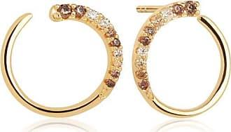Sif Jakobs Jewellery Earrings Portofino with yellow zirconia - 18k gold plated