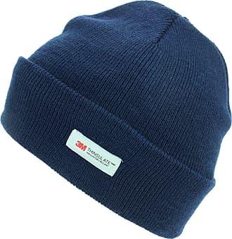 Hawkins Thinsulate 3M Beanie Hat with Fleece Lining - Navy