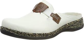 Rieker Womens 46396-80 Clogs, White Bianco Mogano 80, 4 UK
