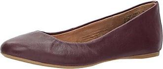 G.H. Bass & Co. Womens Felicity Ballet Flat, Purple, 10 M US
