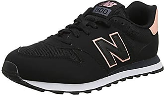 260eb3aedb New Balance 500, Scarpe Sportive Donna, Nero (Black/White Peach/Orca