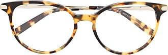 Salvatore Ferragamo Armação de óculos redonda SF2862 - Neutro