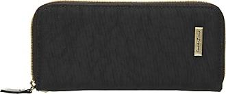 Swankyswans Riley Nylon Womens Zip around Wallet Purse - SwankySwans (Black)