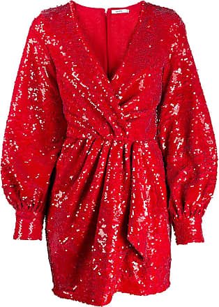Amen sequinned mini dress - Red