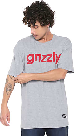 Grizzly Camiseta Grizzly Lowercase Tee Cinza