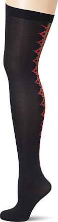 Fiore Womens Valentis/Sensual Suspender Stockings, 40 DEN, Black, Small (Size: 2)