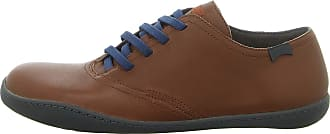 Camper Mens Peu Cami Dione Cola Brown Premium Leather Shoes Size 10