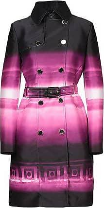 PINK Coat with foulard  Versace  Parkas - Dameklær er billig