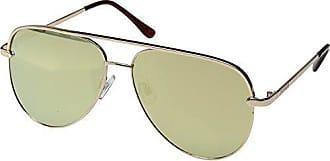 b811a7b696760 Steve Madden Womens Sm482104 Aviator Sunglasses Rose Gold 66 mm
