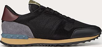 Valentino Garavani Valentino Garavani Uomo Fabric Rockrunner Sneaker Man Black Polyester 100% 40