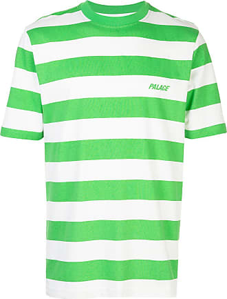 Palace Camiseta listrada - Verde