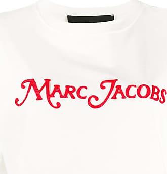 Marc Jacobs Camiseta mangas curtas com aplicação de logo - Branco
