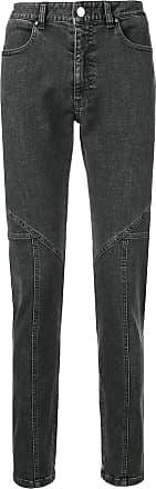 Wooyoungmi Calça jeans slim - Cinza