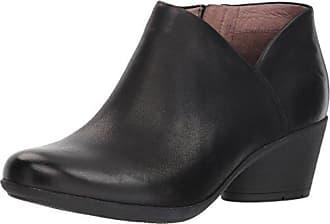 Dansko Womens Raina Ankle Boot, Black Burnished Nubuck, 41 M EU (10.5-11 US)