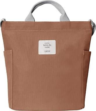 Yidarton Women Canvas Tote Bag Shopping Handbag Shoulder Cross Body Bag Ladies Casual Chic Bags(br)