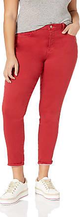 NYDJ Womens Plus AMI Skinny Legging Jean, Gooseberry, 20