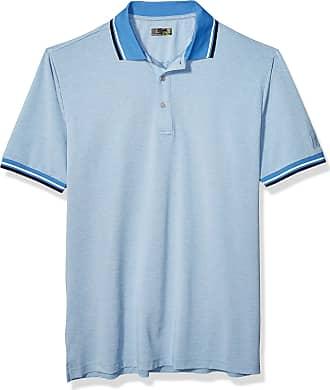 PGA TOUR Mens Big and Tall Short Sleeve Oxford Polo Shirt