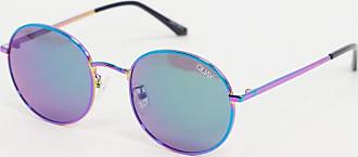 Quay Modstar - Mehrfarbige runde Sonnenbrille