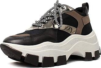 Damannu Shoes Tênis Avril Skin Preto - Cor: Preto - Tamanho: 37