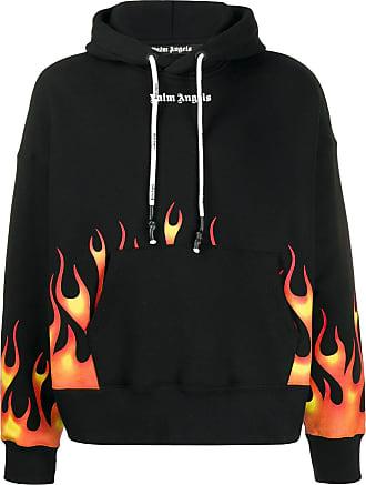 Palm Angels Fire print hoodie