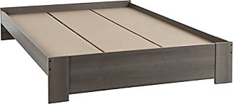 South Shore Furniture Gloria Platform Bed, Queen 60-Inch, Gray Maple