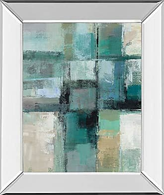 Classy Art Island Hues Crop 1 by Sylvia Vassileva Framed Print Wall Art, Green