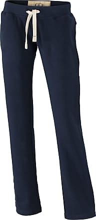 James & Nicholson JN944 Ladies Vintage Wash Sweat Pants Navy Size XL