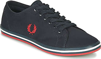 Fred Perry Kingston Twill Trainers Hommes Blue - UK:9 - Low top Trainers