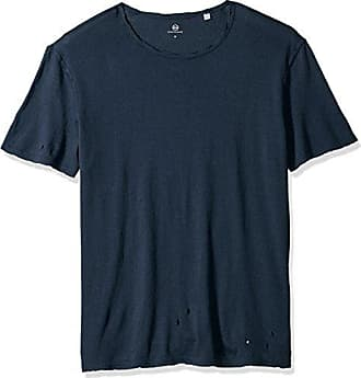 AG - Adriano Goldschmied Mens Ramsey Short Sleeve Crew Neck Tee, Years Midnight Shadow, L