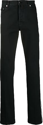 Kiton striped jeans - Black