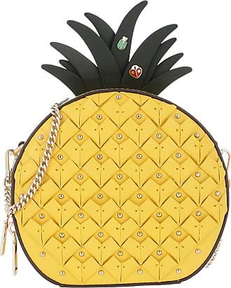 Kate Spade New York Pineapple Crossbody Light Bulb Umhängetasche gelb