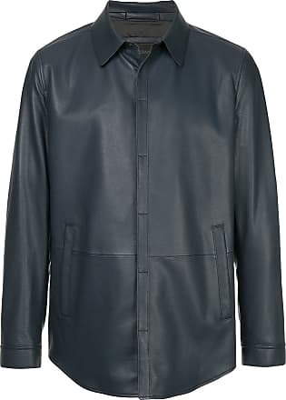 Durban concealed buttoned jacket - Blue
