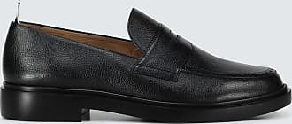 Thom Browne Grained leather penny loafers