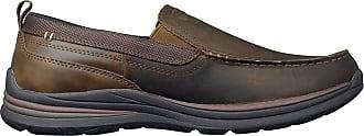 Skechers Mens Superior 2.0-Jeveno Trainers, Dark Brown, 7 D(M) US