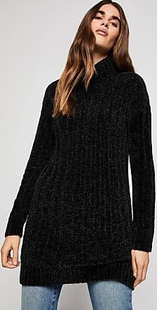 BCBGeneration Ribbed Turtleneck Tunic Sweater