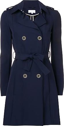 Patrizia Pepe belted trench coat - Azul